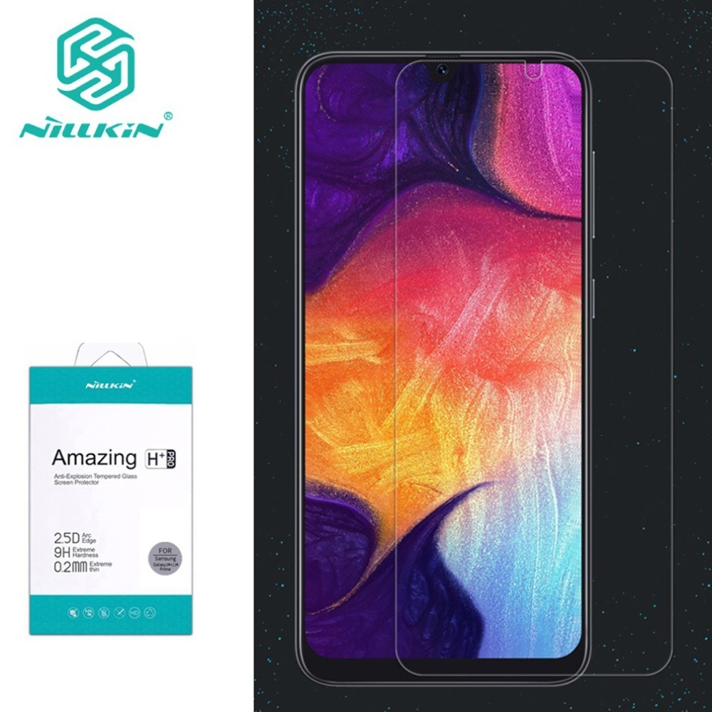 Nillkin Screen Protector Tempered Glass for Samsung Galaxy A30 A20 A50 Amazing H+Pro For Samsung Galaxy A50 GlassNillkin Screen Protector Tempered Glass for Samsung Galaxy A30 A20 A50 Amazing H+Pro For Samsung Galaxy A50 Glass