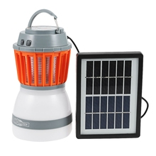 2-In-1 Portable Led Camping Light Mosquito Killer Lamp For Outdoor Garden Party Charging Pest Repeller