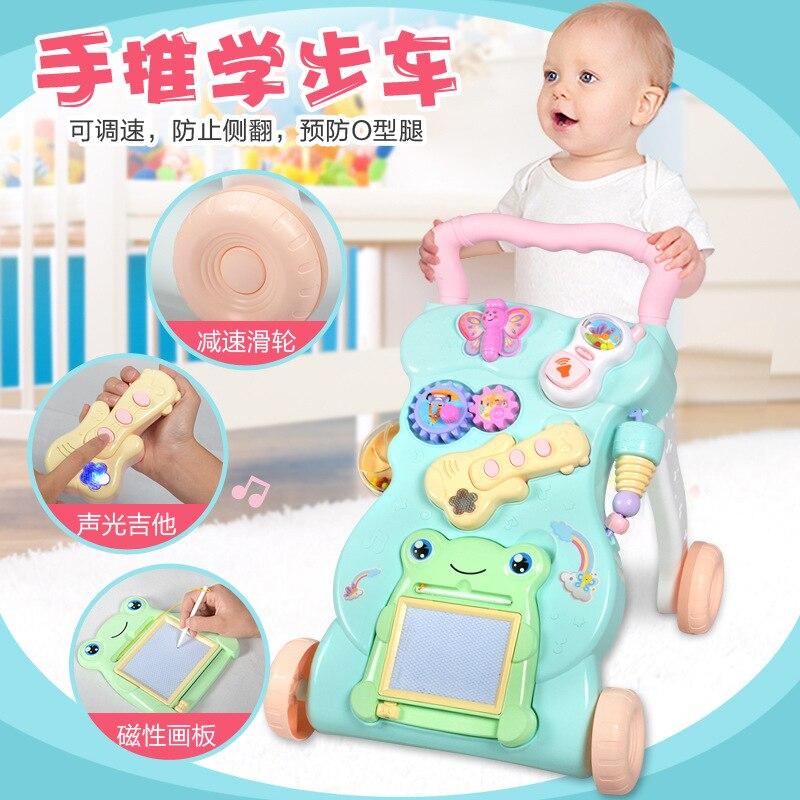 Bébé marcheur panier 0-2 ans enfant bébé multifonction avec musique réglable marcheur jouet