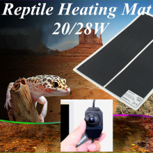 Террариум рептилий тепловой коврик для альпинизма Pet нагревательные теплые подушечки настраиваемый регулятор температуры коврики рептилии поставки