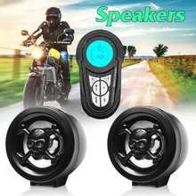 Мотоцикл аудио Радио bluetooth Противоугонная звуковая система MP3 музыка стерео динамик USB Водонепроницаемый Будильник аксессуары для усилителей