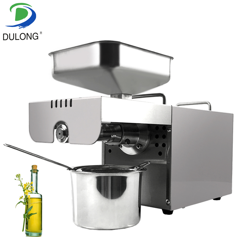 New Stainless Steel Mini Oil Press Cold Oil Press Machine Home Healthy Oil Maker For Peanut SoybeanNew Stainless Steel Mini Oil Press Cold Oil Press Machine Home Healthy Oil Maker For Peanut Soybean