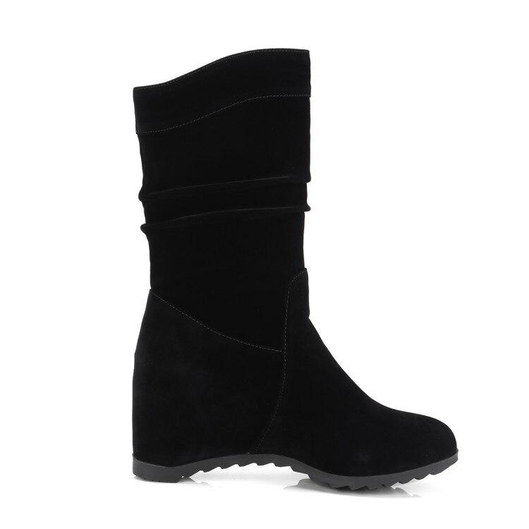 Interne Hauteur Plat Pointu 2019 Bottines 40 Accrue Grande Chaussures Bout 0 Femmes Croissante 43 De Xianyiduo Troupeau 138 Taille wZcAB4qBI