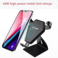Qi Car Wireless Charger Phone Holder for audi a1 subaru legacy grand vitara hyundai tucson 2018 hatchback chery aveo 2009 subaru