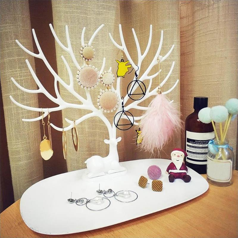 Cynthia Rowley Jewelry Organizer: Fashion Deer Jewelry Organizer Necklace Earring Deer Stand