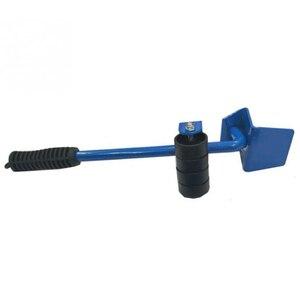 Image 2 - 5 pcs 전문 가구 전송 기중 장치 도구 세트 무거운 물건 이동 손 도구 세트 휠 바 발동기 장치