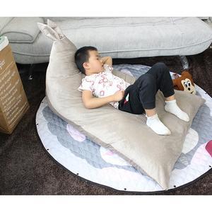 Image 3 - Adeeing Trẻ Em Thoải Mái Tai Thỏ Thiết Kế Đậu Túi Đồ Chơi Lưu Trữ Đọc Ngủ