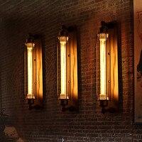 Edison Retro Luz de Parede Para Casa De Metal Antigo Loft Estilo Industrial Do Vintage Lâmpada de Parede Arandela Iluminação Interior Lampara Pared