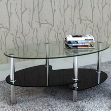VidaXL Outdoor Tables Tempered Glass Metal Frame Assembly Modern Table