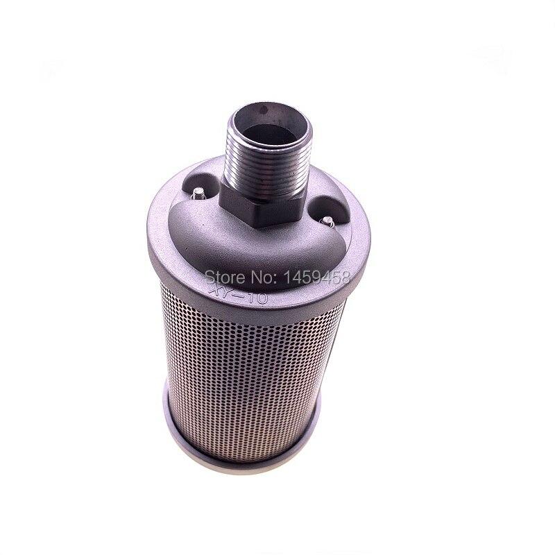Livraison gratuite 2 pcs/lot XY-10 DN25 filtre d'échappement industriel silencieux silencieux pour adsorption sécheur compresseur d'air