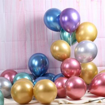50pcs/Pack Assorted Color Balloons Party Supplies Chrome Latex Balloons Room Layout Party Decoration For Adults Children