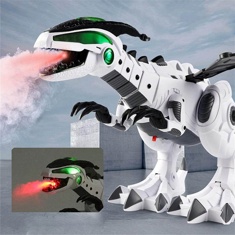 Juguetes Para Dinosaurio Pterosaurio Blanco Eléctrico Mecánico De Con Espray Niños xQEdBeWrCo