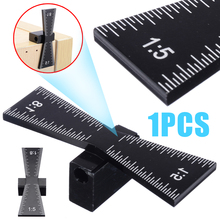Portable Woodworking Dovetail Marker Marking Gauge For Hardwood & Softwood Aluminum Measuring Tools Black