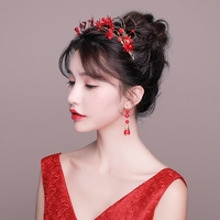 Fashin Korean Bridal Headband Fabric Flower Headpiece Wedding Hair Accessories Girls Pageant Prom Headdress Gifts Handmade