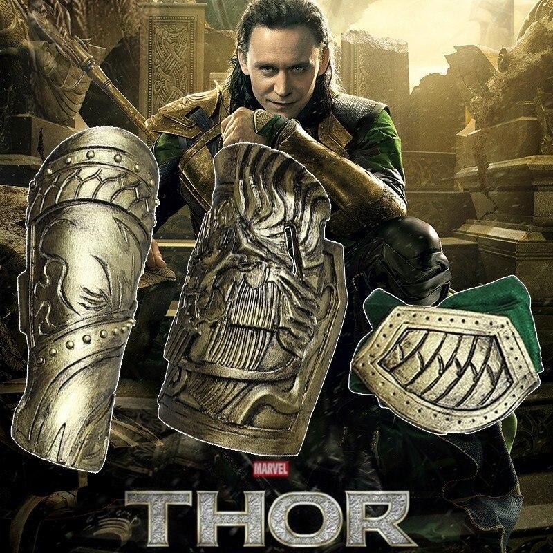 Thor The Dark World Loki Cosplay Costume Movie Thor 2 Superhero The Avengers Halloween Adult Men Only Armor Cuffs Jacket Pants