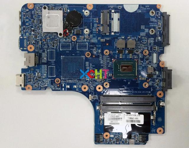 712922 601 712922 001 712922 501 для HP 4440s 4441s 4540s UMA w i3 3120M материнская плата с процессором для ноутбука протестирована и работает идеально