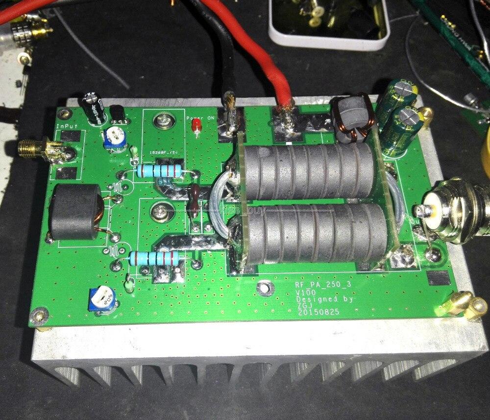 180 W HF linéaire haute fréquence RF SSB CW amplificateur de puissance Amateur FM Station de Radio bricolage KITS pour émetteur-récepteur interphone Radio HF FM