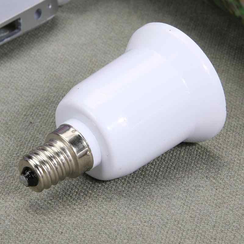 1 pcs E14 to E27 Lamp Holder Converter Socket Light Bulb Lamp Holder Adapter Plug Extender Led Light Use lamp head