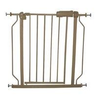 Babysafe Metal Gate Baby Safety Gates Children Kids Safe Isolation Fence 146 158CM Golden