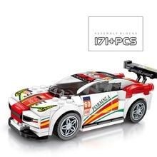 Новейший гоночный автомобиль скорость Чемпион совместим с Legoing Technic Supercar модель строительные блоки кирпичи игрушки для мальчика детские подарки