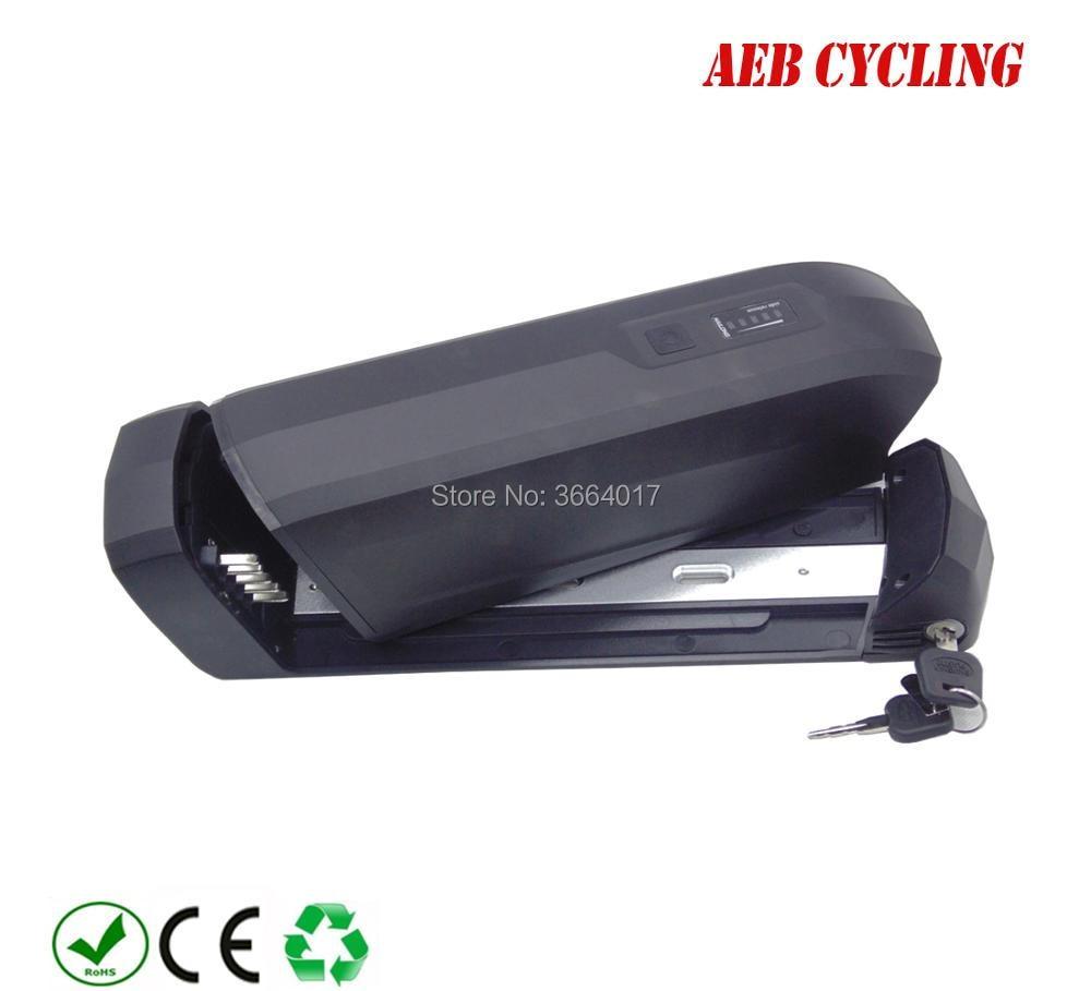 Free Shipping 250W 350W 500W Lithium ion 36v 48v E bike battery 10ah 10 5ah 11