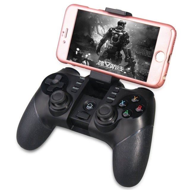 ipega Bluetooth 2.4G Wireless Controller Gamepad Joystick for PS3 Android Phone Tablet PC Laptop(Black)