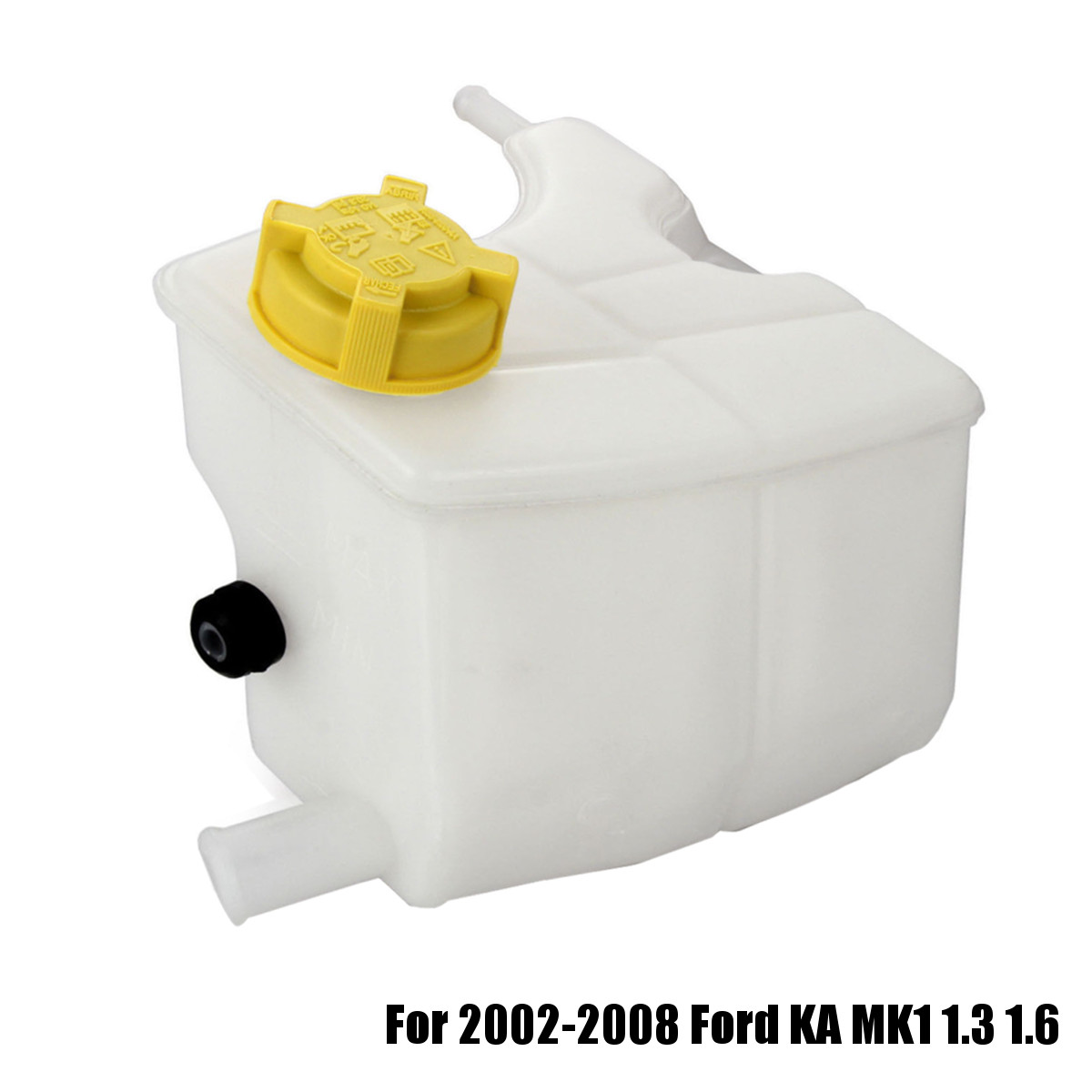 Radiator Expansion Coolant Heater Tank Bottle W/cap 1134883 1s51 8k218a For Ford Ka Mk1 1.3 1.6 2002-2008 Neither Too Hard Nor Too Soft Automobiles & Motorcycles
