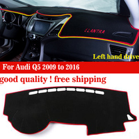 Car dashboard cover mat for KIA K2 all the years Left hand drive dashmat pad dash covers auto dashboard accessories