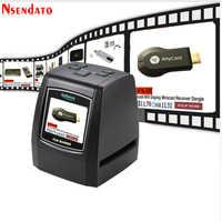 Haute résolution 14MP/22MP 110 135 126KPK Super 8 MM négatif Photo Scanner 35mm 2.4 LCD diapositive Film Scanner numérique Film convertisseur