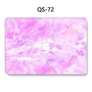 Image 2 - Чехол для ноутбука MacBook Чехол для ноутбука для MacBook Air Pro retina 11 12 13 15,4 дюймов с защитой экрана крышка клавиатуры