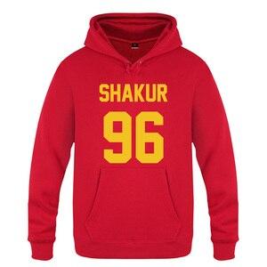 Image 3 - Shakur 96 Tupac 2PAC Rock Rap Hoodies Men 2018 Mens Pullover Fleece Hooded Sweatshirts