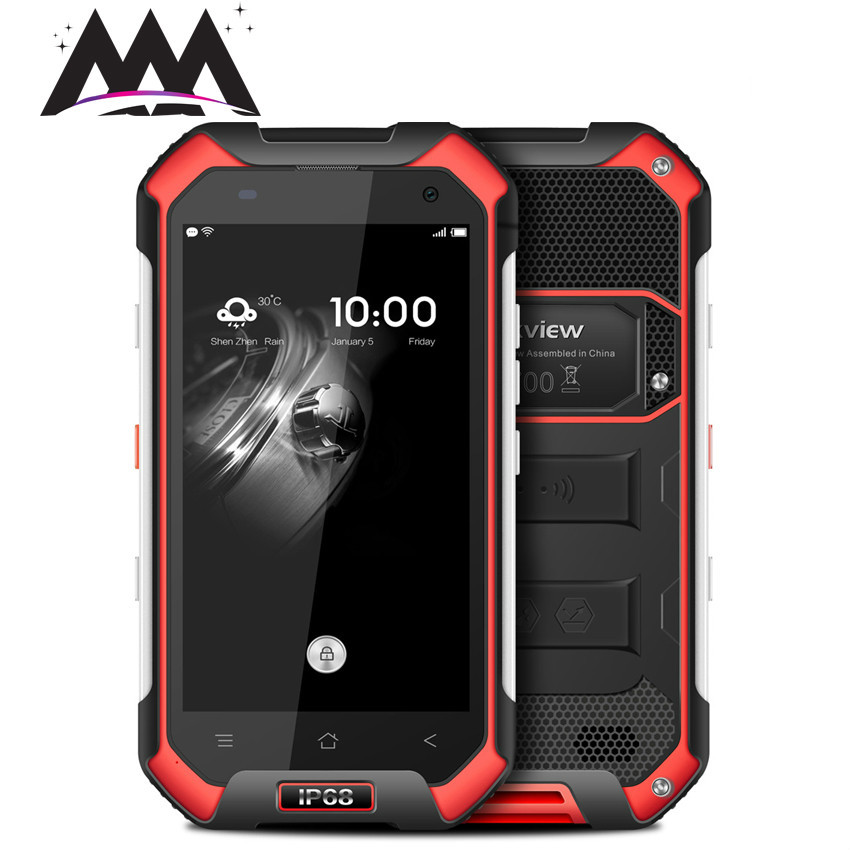 Original Blackview BV6000S IP68 Waterproof shockproof Smartphone MT6737T Quad Core Android 6 0 4G LTE 2GB