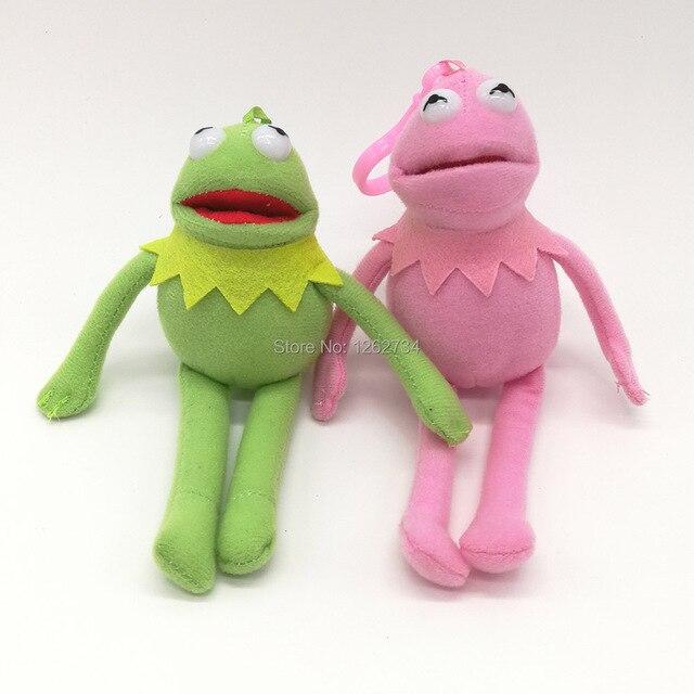 Cores Sesame Street Kermit The Frog 14 2 CENTÍMETROS Clip Para Crianças Melhores Presentes Macios Plush Doll Figura PCXB