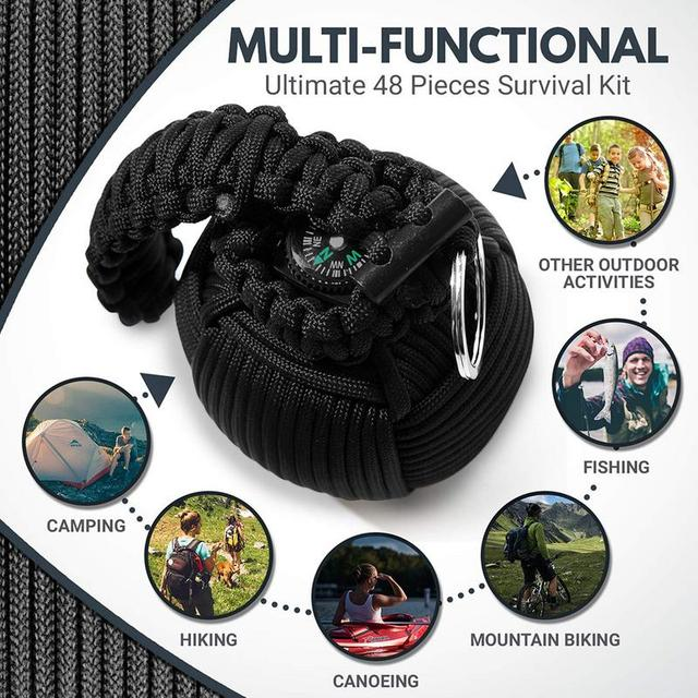 Mini Emergency Kit Survival Grenade 8
