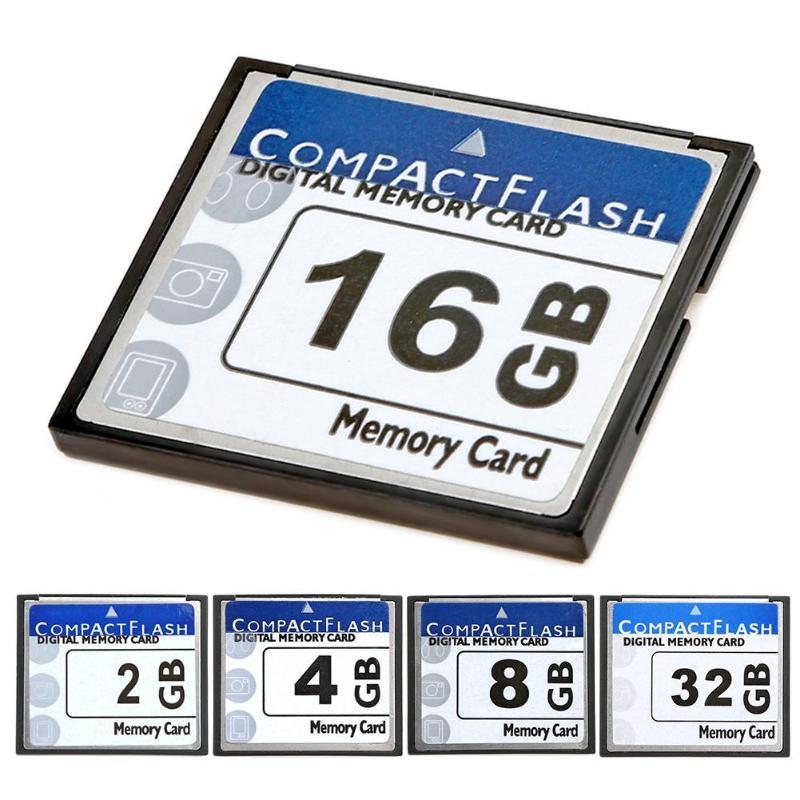 Yüksek Hızlı CF Hafıza Kartı 2/4/8/16/32 GB 5MB Kompakt Flash CF kart için dijital kamera Bilgisayar Dizüstü Reklam Makinesi