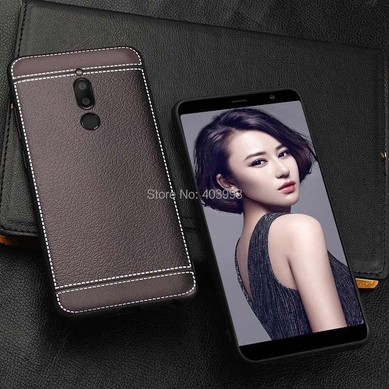 <font><b>Meizu</b></font> <font><b>M6T</b></font> Case For <font><b>Meizu</b></font> <font><b>M6T</b></font> Soft Case Leather Pattern Soft Phone Back Cover On <font><b>Meizu</b></font> M 6T <font><b>M811H</b></font> M811Q image