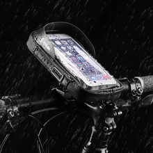 Perfeclan Waterproof Bike Phone Bag Pouch Frame Tube Bags Smartphones Holder Touch Screen Bicycle Mount