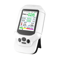 Air Quality Pollution Tester Temperature Humidity Meter Sensor Detect Pm2.5/Pm10/Pm1.0 M Icron Dust household health monitor