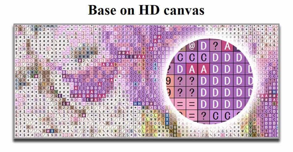 5d ภาพวาดเพชรการ์ตูนเต็มเจาะ daimont เย็บปักถักร้อยสาว daimand mosaic art เห็ด diamant ผ้าใบโปสเตอร์ขนาดใหญ่