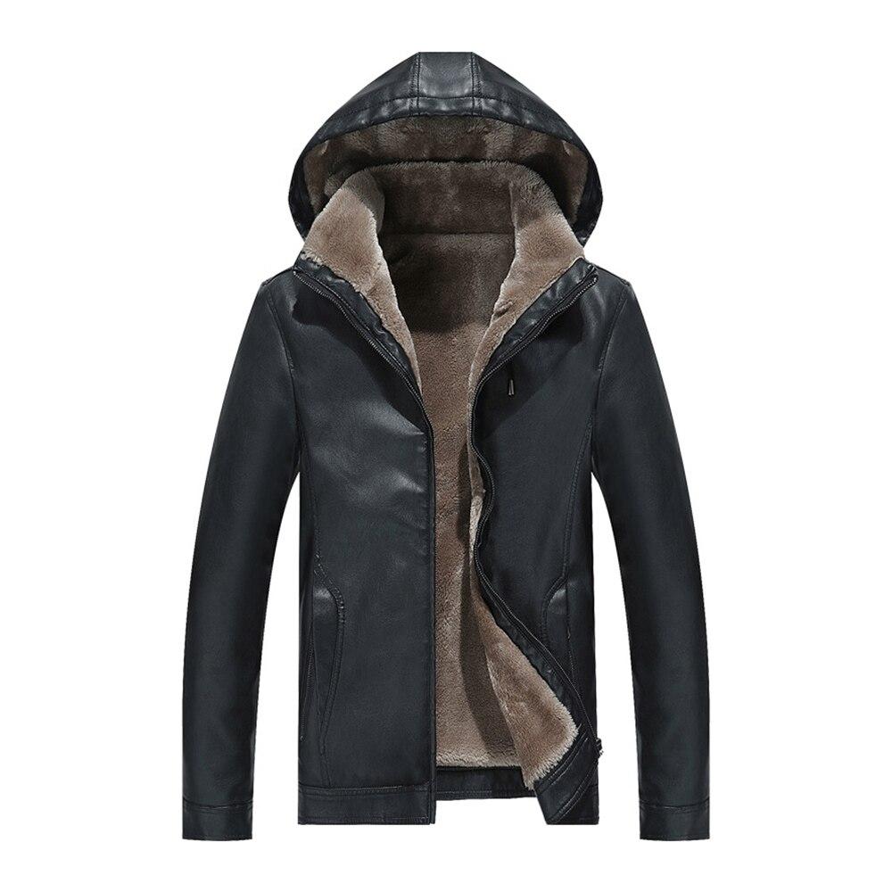 Veste de Moto en cuir PU hommes Vintage rétro Moto coupe-vent W vestes en cuir Moto vêtements manteaux