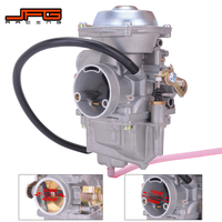 Motorcycle 34MM Carburetor Carburador For Roketa Jianshe JS400 YamaBuggy Hensim HS400 ATV GN250 GN300 300CC 400CC Engine