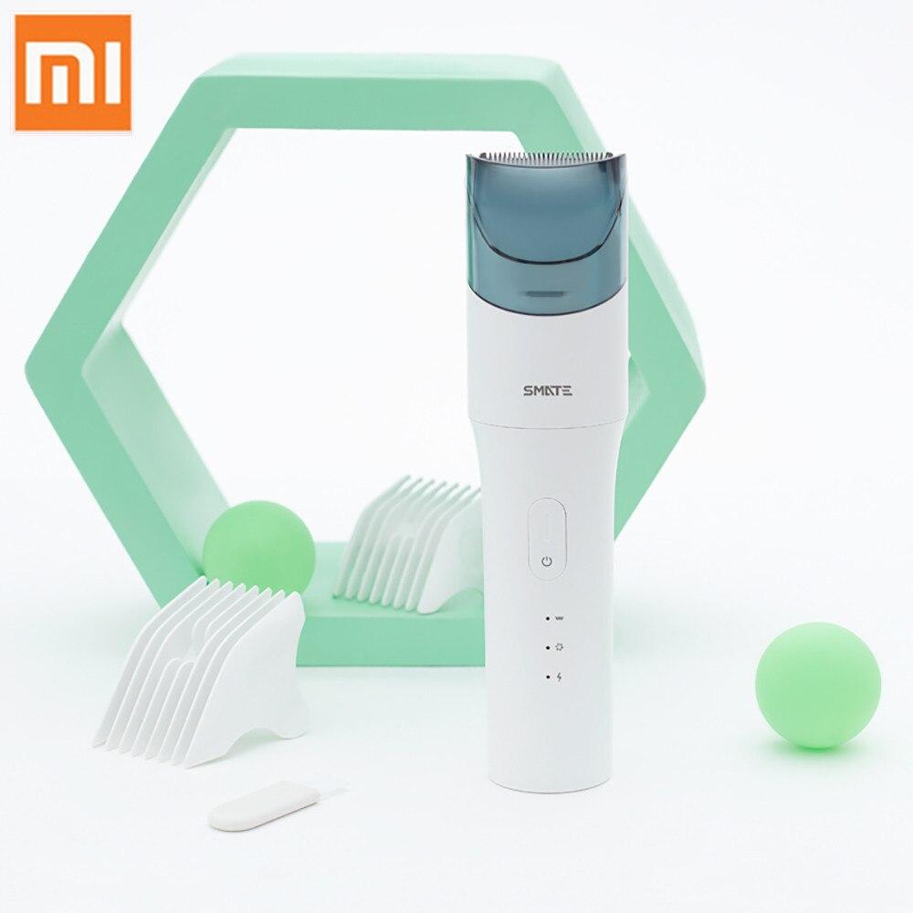Xiaomi SMATE tondeuse à cheveux électrique tondeuse pour bébé coupe-cheveux étanche USB Rechargeable enfants outils automatiques ultra-silencieux - 2