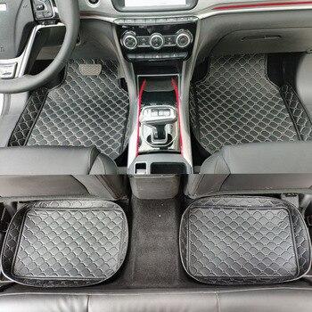 Fibra de carbono Real ajuste botón Trim pegatinas para Mercedes Benz W176 B  W246 C W204 E W212 E350
