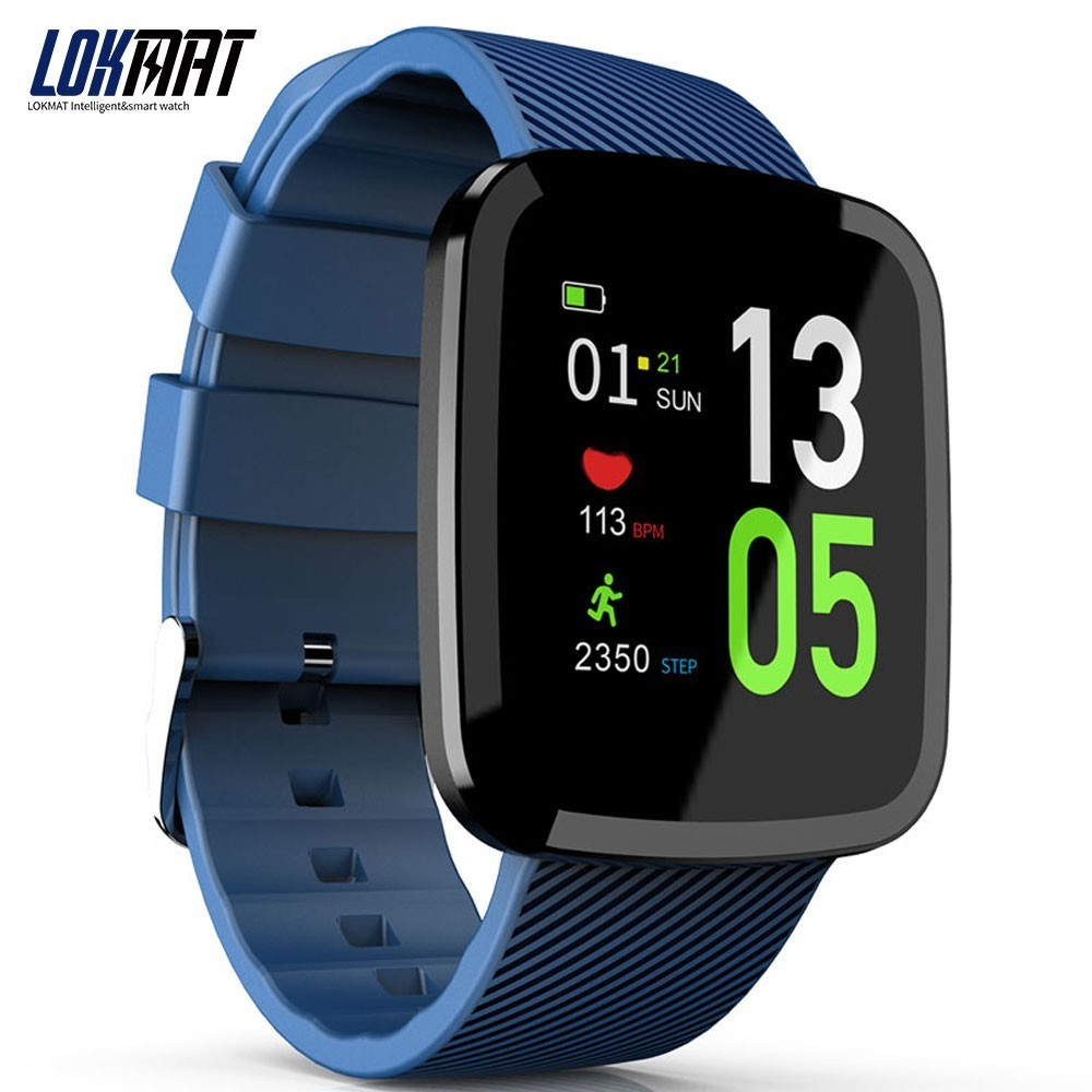LOKMAT Smartband heart rate monitor fitness bracelet activity tracker Smart Wristband for ios AndroidLOKMAT Smartband heart rate monitor fitness bracelet activity tracker Smart Wristband for ios Android