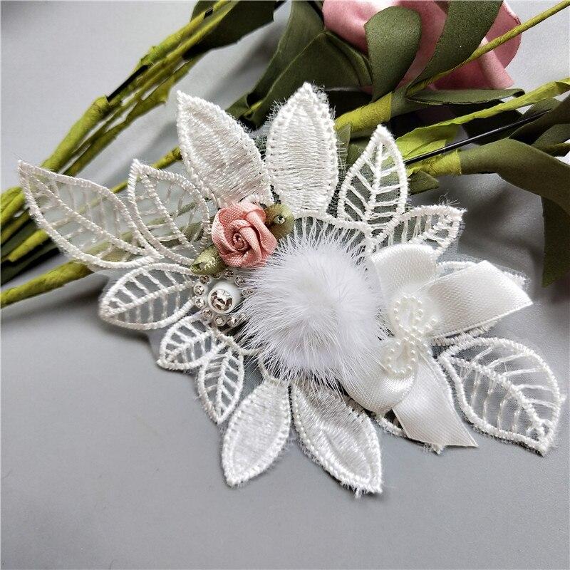 US $2 27 1 Yard 3D Diamond Flower Grape Tassel Lace Trim