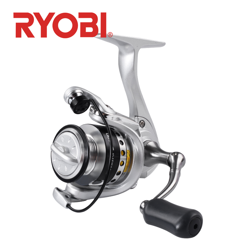 RYOBI Fishing Reel 500 800 1000 Spinning Fishing Reels Mini Spinning Wheel 5.2:1 Gear Ratio 3+1BB Fishing Reel Saltwater