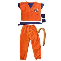 Dragon Ball Wu Kong пять штук в наборе Детский костюм Мастер Роши Yasay люди с поддержкой запястья хвост Детский костюм