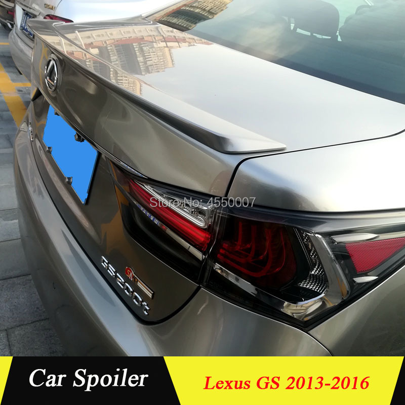 For LEXUS GS350 GS300 GS450 Spoiler 2016 High Quality ABS Material Car Rear Wing Spoiler for