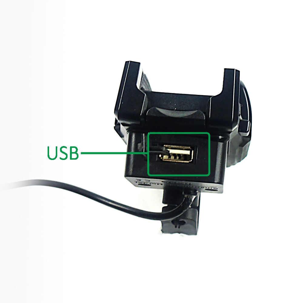 OKFEET e-bike держателя телефона велосипед для iPhone X 8 XR XS Max кронштейн Стенд велосипед с USB зарядное устройство для iPhone X 3,5-6,2 & quot