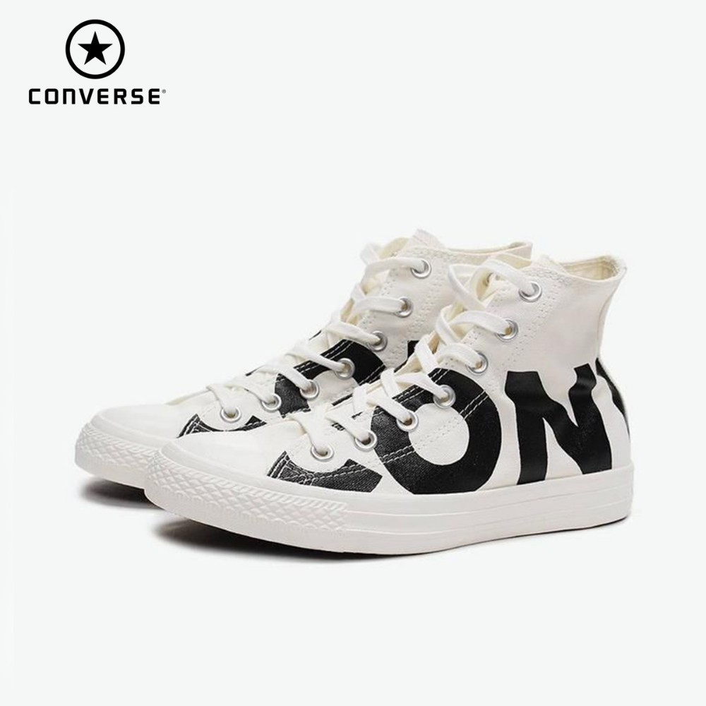 Converse All Star lettre impression chaussures de skateboard anti-dérapant classique CHUCK TAYLOR toile baskets 159532c 159533c